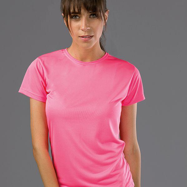 T-shirt publicitaire technique femme Nicosia