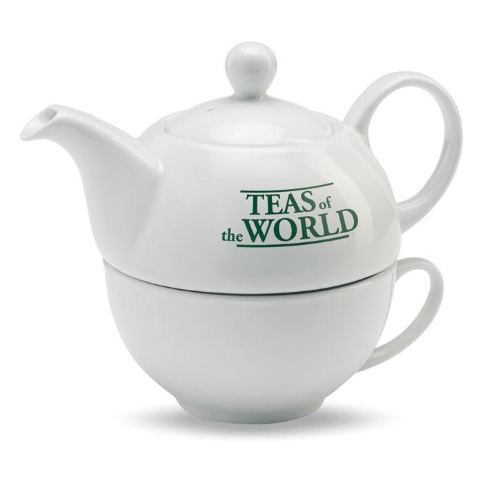 Set de thé publicitaire Tea Time - cadeau d'entreprise personnalisé