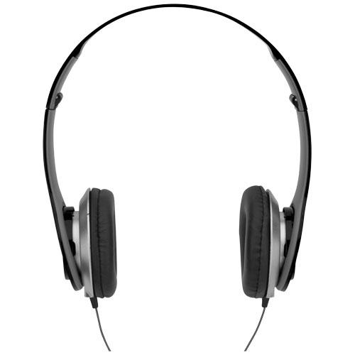 Casque audio publicitaire Cheaz noir - Cadeau d'entreprise