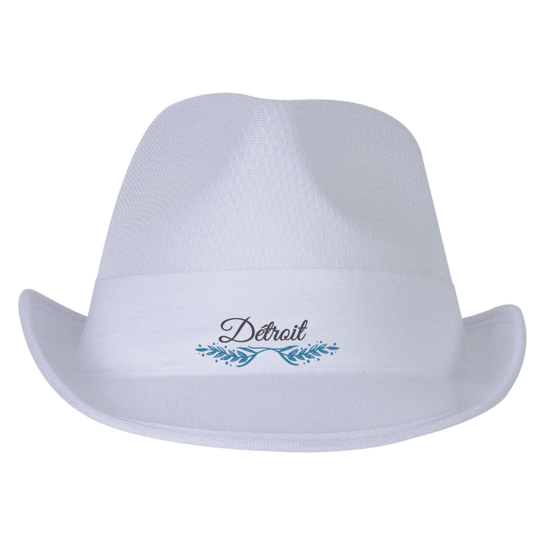 Cadeau d'entreprise - Chapeau publicitaire Panama Evènement