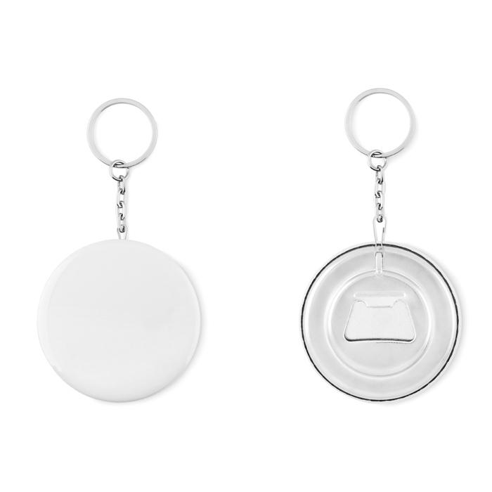 Porte-clés personnalisé - Décapsuleur porte-clés personnalisé Pin Flask