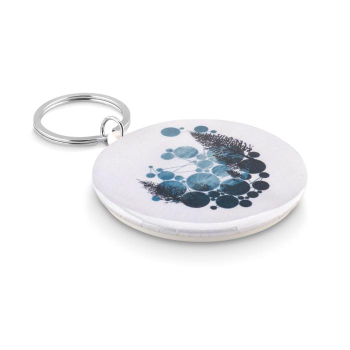 Goodies-salons - Porte-clés Pins personnalisé Pin Ring