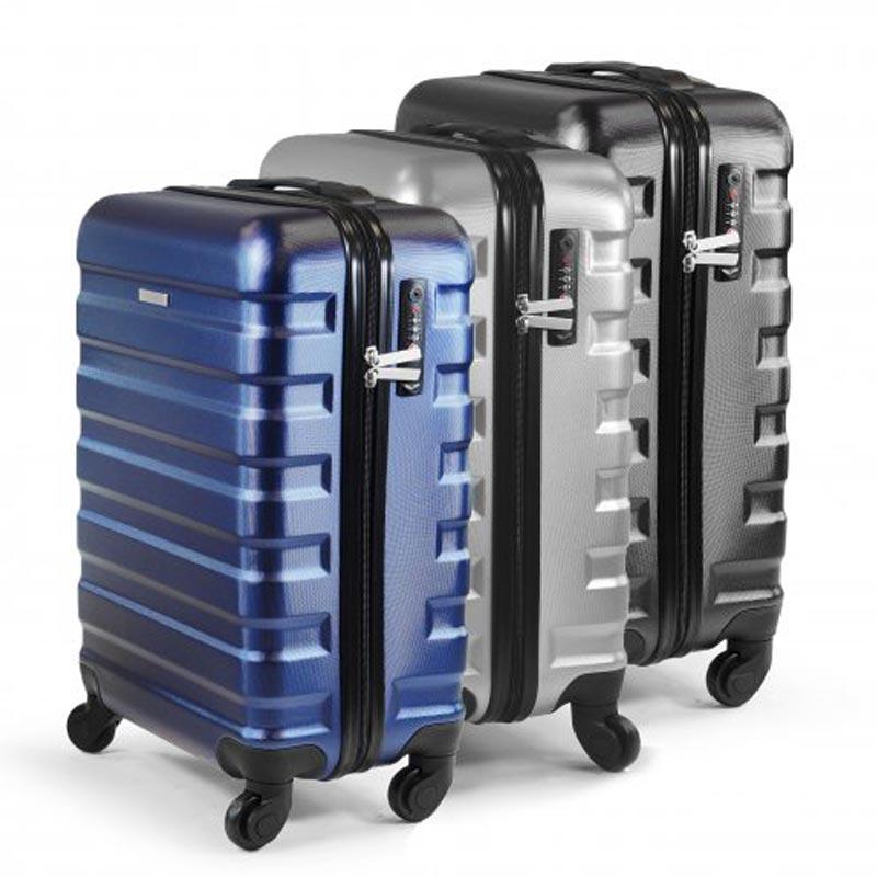 Ensemble de 3 valises publicitaires en rPET