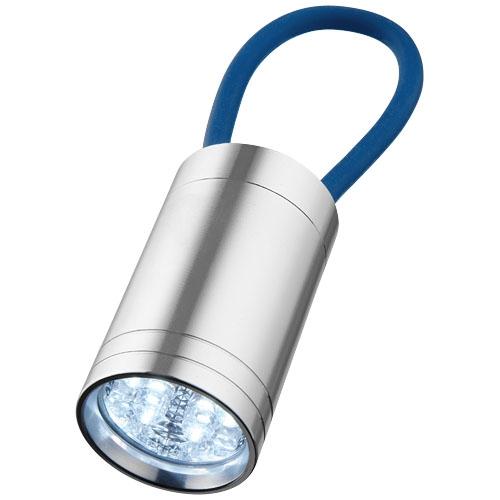 Goodies - Lampe torche publicitaire à 6 LED Vela avec dragonne lumineuse