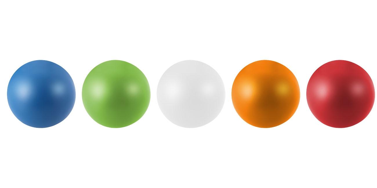 Balle anti-stress publicitaire Bright verte
