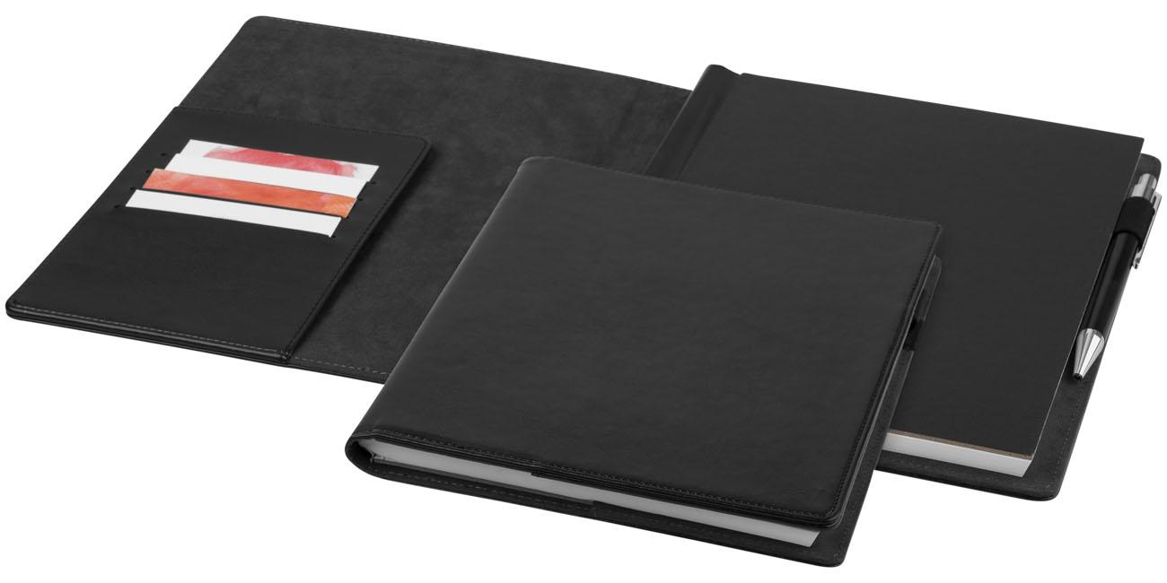Conférencier personnalisable simili cuir Arun - cadeau d'entreprise