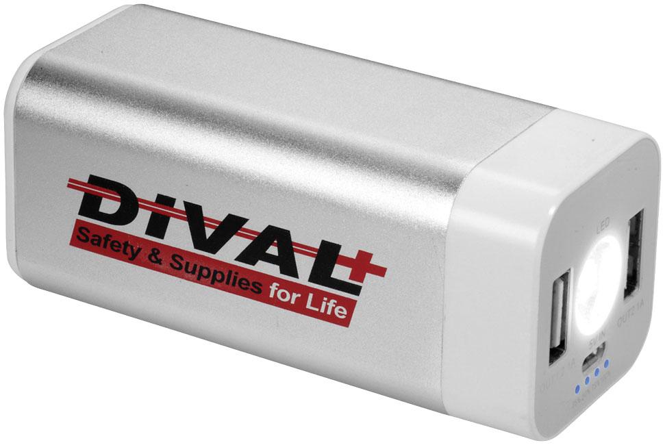 Batterie de secours publicitaire Mega Volt - Objet publicitaire high-tech