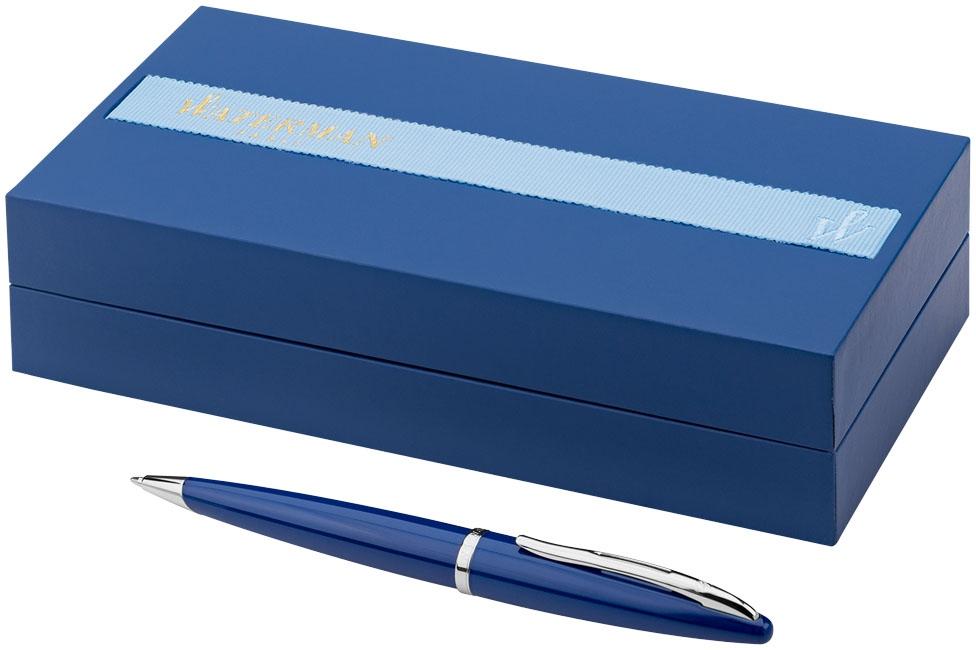 Stylo publicitaire en métal - Stylo bille publicitaire Carène bleu Waterman