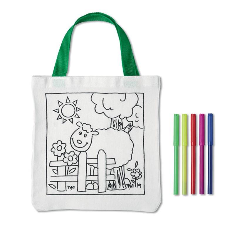 Goodies enfant - Sac coton à colorier Mateusz