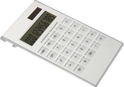 Calculatrice publicitaire Solarama - cadeau publicitaire écologique
