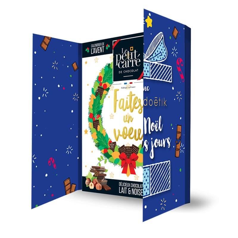 Chocolat publicitaire - Calendrier de l'Avent Citation