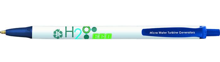 Stylo publicitaire recyclé BIC® Ecolutions® Clic Stic™ Bille