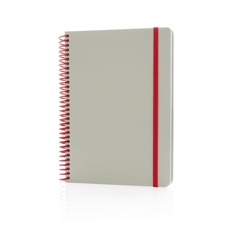 Cadeau d'entreprise - Carnet A5 Ecogreen à personnaliser
