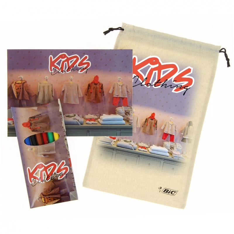 Feutres publicitaires Bic® Visa® Full Colouring - cadeau publicitaire