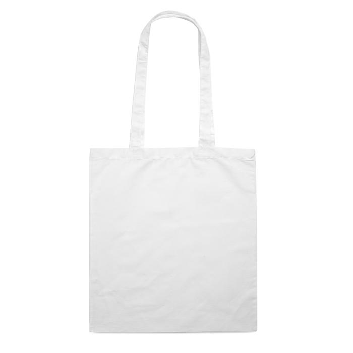 Sac en coton publicitaire 140 g Cottonel + - sac shopping personnalisé rouge