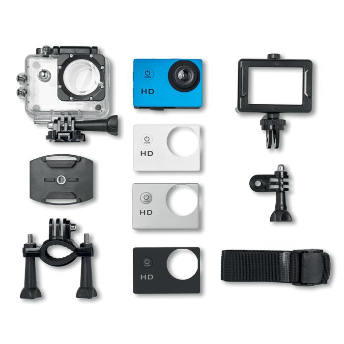 Caméra numérique de sport publicitaire Click It - argent