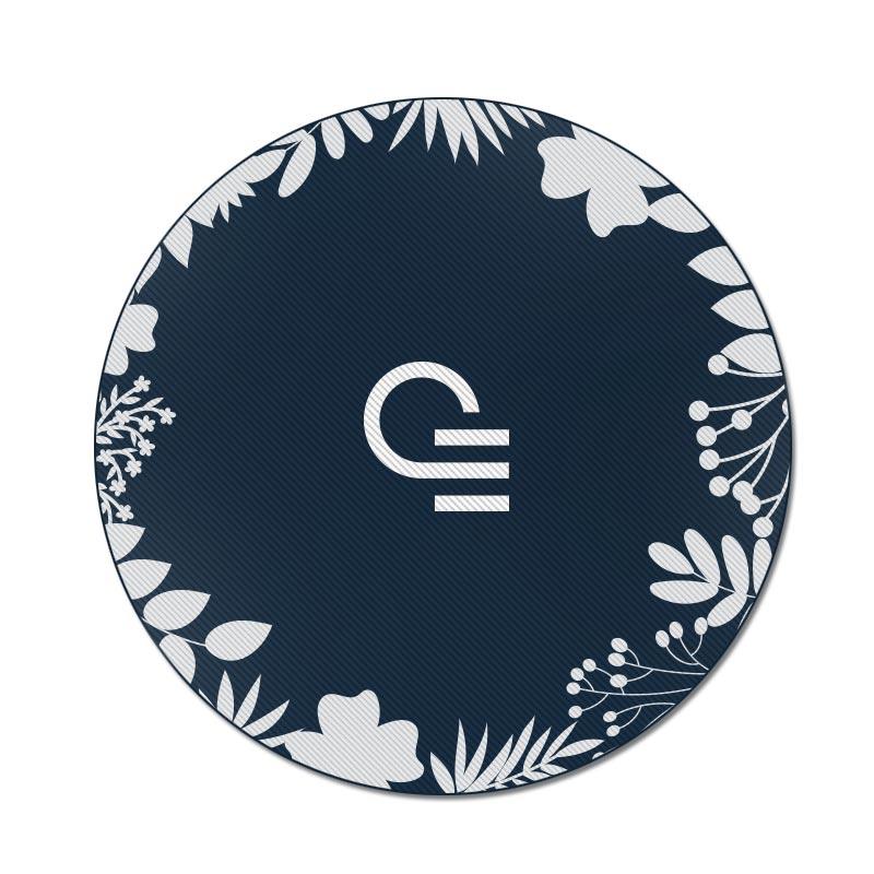 Serviette de plage personnalisable - Fouta ronde Maya