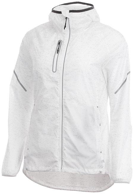 Imperméable personnalisé pour femme Jacket Signal blanc