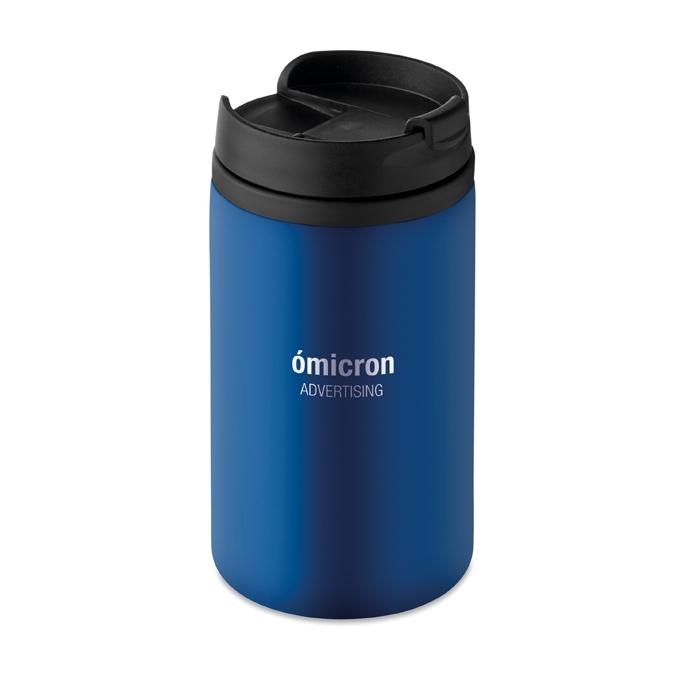 Cadeau promotionnel - Mug personnalisé double paroi Falun - bleu