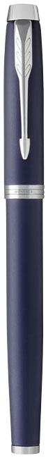 stylo publicitaire en métal -Roller publicitaire IM Color de Parker bleu/argent