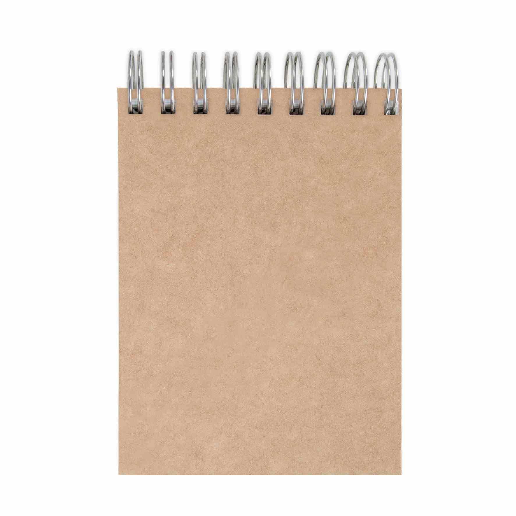 carnet spirale publicitaire en papier recyclé et crayon agenda ecopaper - goodies écologique