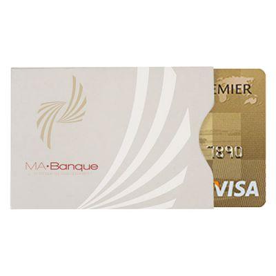 Goodies - Etui cartonné personnalisable pour carte de crédit anti-RFID