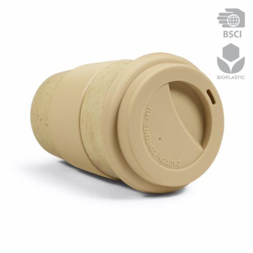Mug publicitaire écologique Mugry beige - mug personnalisé