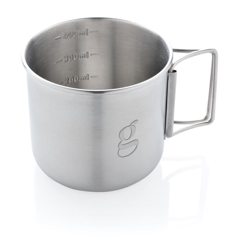 mug publicitaire explorer avec anses pliées