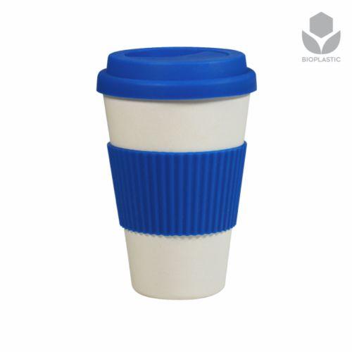 Mug promotionnel écologique Panda gris - mug écologique personnalisé