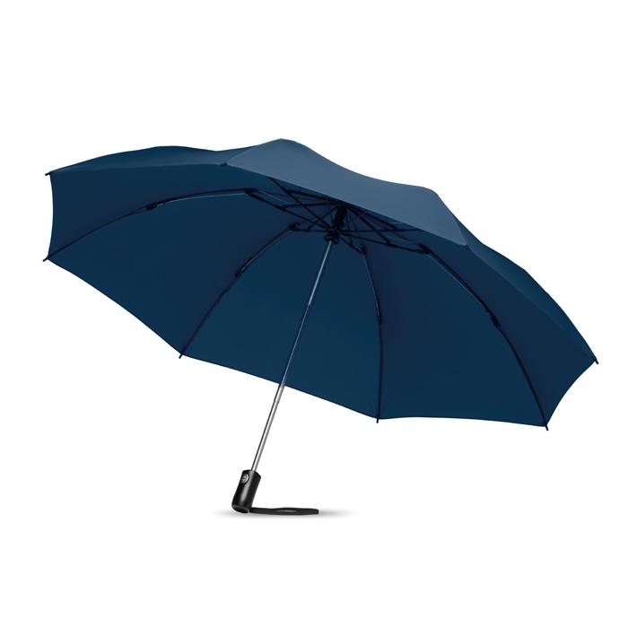 Parapluie publicitaire réversible pliable Dundee - Cadeau d'entreprise