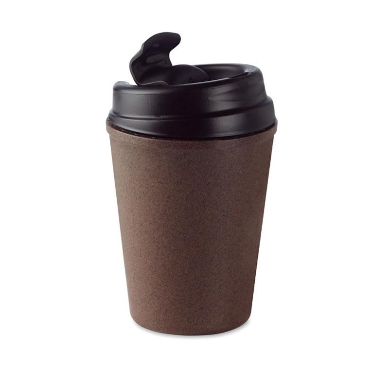 Mug personnalisable Brazil en cosses de café