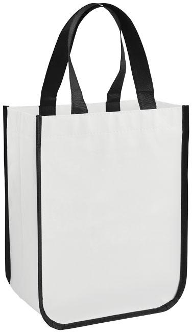 Petit sac shopping personnalisé laminé Pequeno - cadeau publicitaire