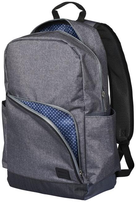 """Sac à dos pour ordinateur personnalisé 15"""" Grayson - sac à dos publicitaire"""