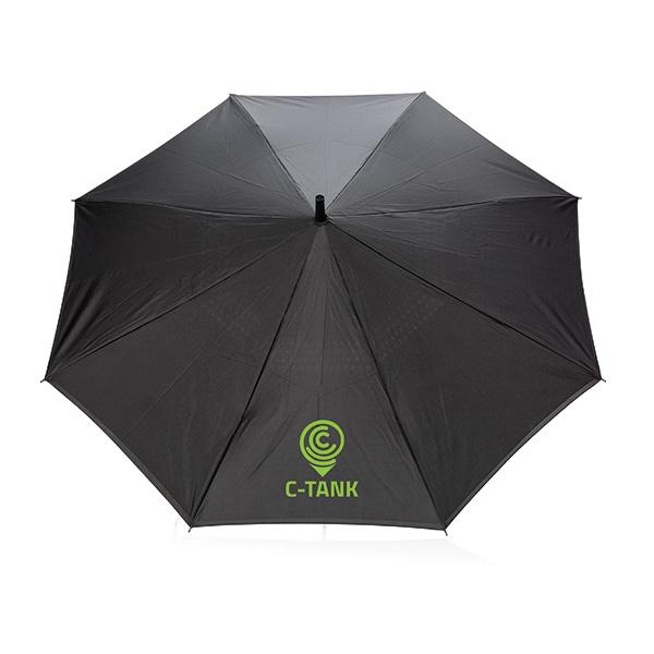 """Parapluie publicitaire manuel réversible de 23"""" Backwards - Objet publicitaire pour la pluie"""