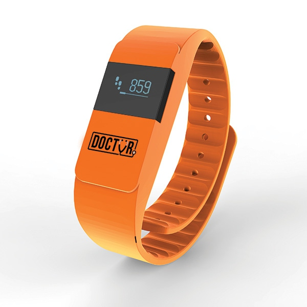 Bracelet connecté publicitaire Keep Fit - cadeau d'entreprise