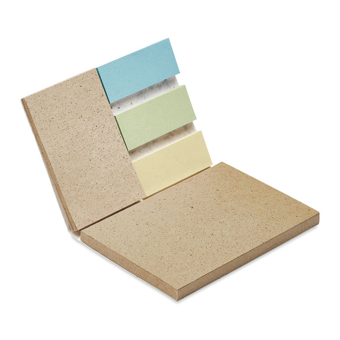 Bloc mémo en papier recyclé et papier à graines Growme