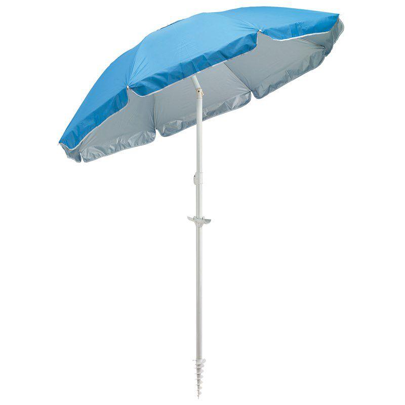 Parasol personnalisé inclinable Beachclub - cadeau publicitaire été
