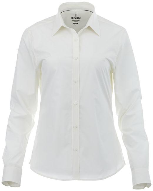 Chemise personnalisée manches longues Hamell pour femme - chemise publicitaire