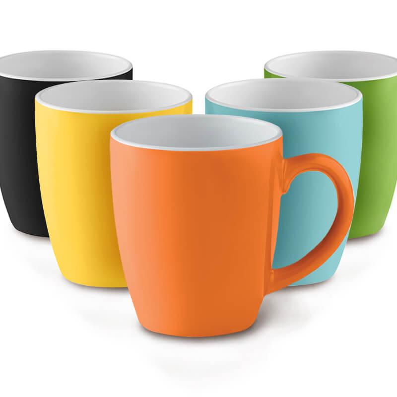 Mug coloré en céramique 300 ml  Colour Trent