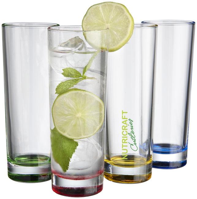 Set de 4 verres SoJuicy - cadeau publicitaire