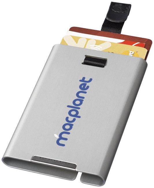 Accessoire de voyage publicitaire - Porte-cartes publicitaire RFID Pilot