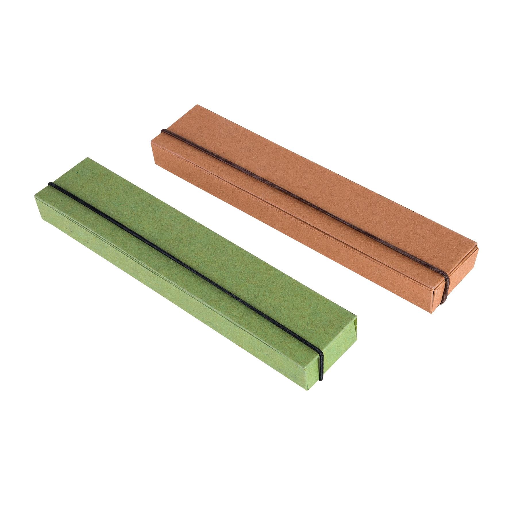 Papeterie publicitaire - Etui cadeau Clip'One Eco - vert