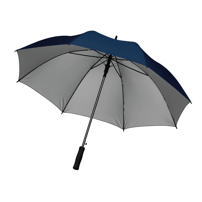 """Parapluie publicitaire 27"""" Swansea+ - Cadeau publicitaire - noir"""