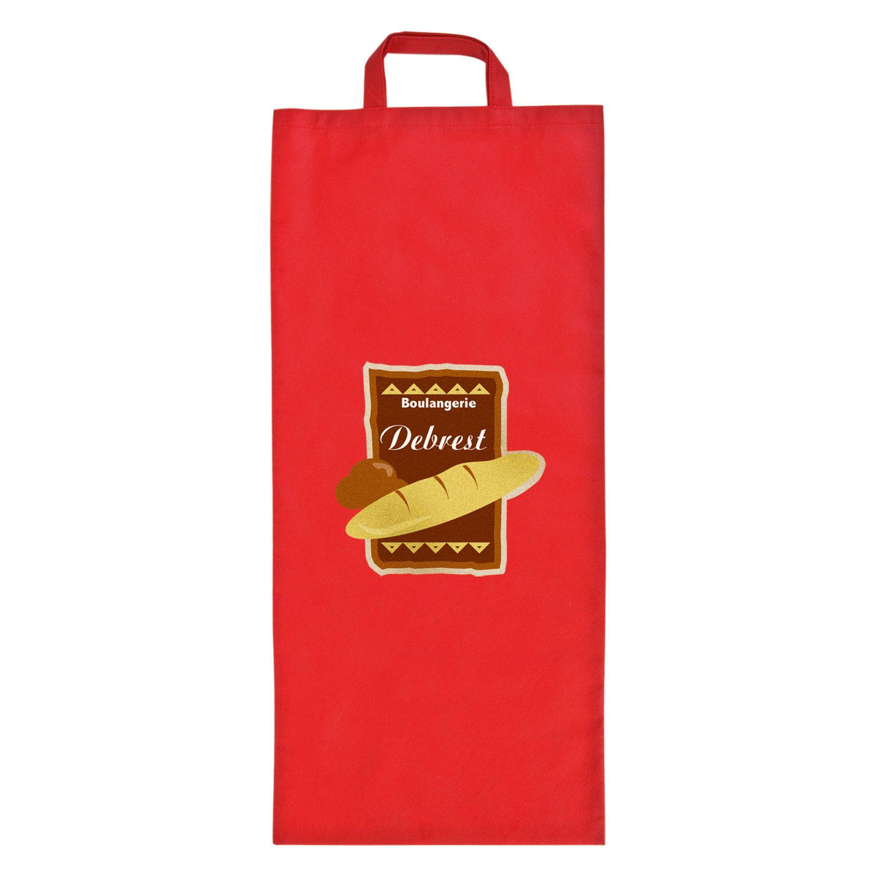 Sac à pain publicitaire non tissé Miette - sac à pain personnalisable