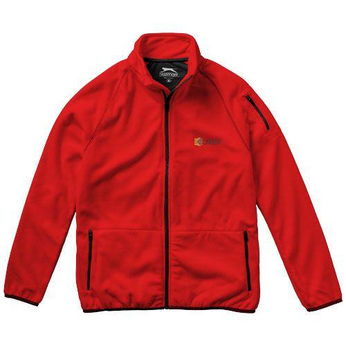 Veste polaire personnalisable homme Drop rouge  - Textile publicitaire