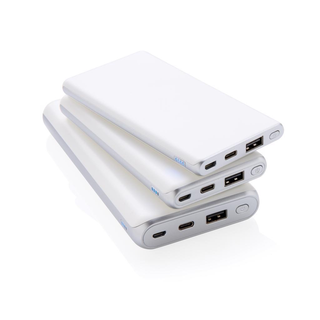 Puissant chargeur personnalisé - Cadeau d'affaires - Batterie de secours publicitaire 20000 mAh Megapower