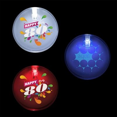 Goodies - Badge lumineux personnalisable Glitty