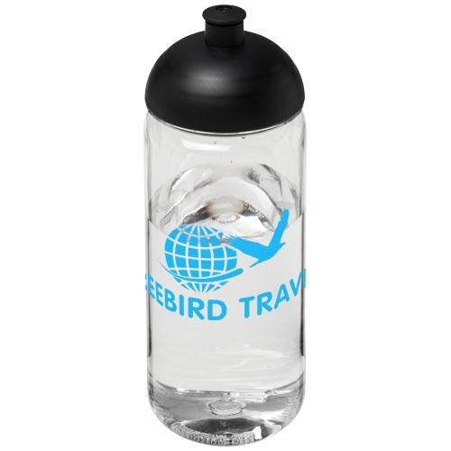 Bouteille de sport publicitaire H2O Octave Tritan™ 600 ml avec couvercle dôme
