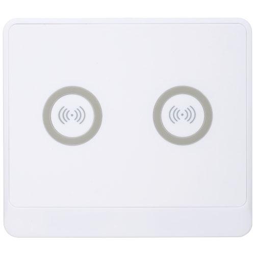 cadeau publicitaire high-tech- Pad de recharge publicitaire Zenith Dual