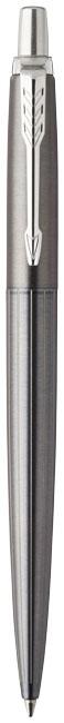 Stylo publicitaire en métal Oxford Grey Pintstripe Jotter Parker - cadeau d'entreprise